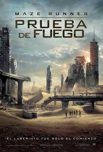 """MAZE-RUNNER-PRUEBA-DE-FUEGO""-poster-lati"
